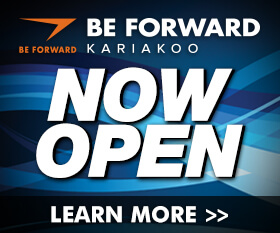 BE FORWARD KARIAKOO NOW OPEN