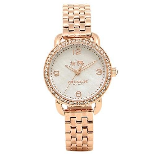 [coach] wrist watch ladies COACH 14502479 pink Gold Silver